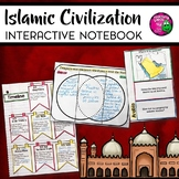 Islamic Civilization Interactive Notebook Unit INB Islam World History