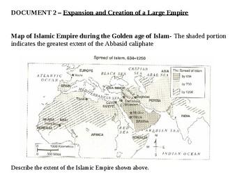 Islamic Empire Achievements Station Activity