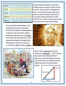 """Islamic Empire - """"In the Field of Mathematics"""" + Assessments"""
