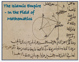 """Islamic Empire - """"In the Field of Mathematics""""  (Distance Learning)"""