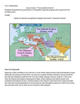 Islamic Empires DBQ