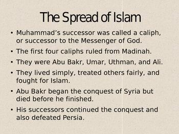 Islamic Empires Interactive PowerPoint