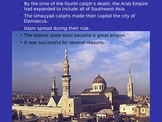 Islamic Empires Interactive PowerPoint