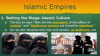 Islamic Empires PowerPoint Lecture