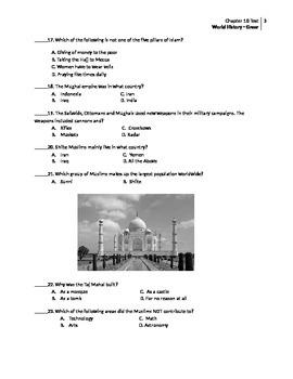 Islamic Empires Test