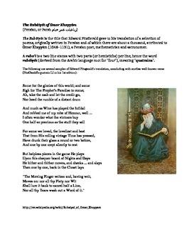 Islamic Historic Quatrain Poem Project