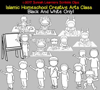 Islamic Homeschool Creative Arts Class