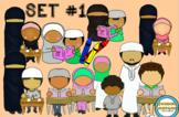 Islamic Homeschooling Clip Art set#1