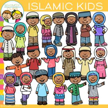 Islamic Kids Clip Art