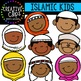 Islamic Kids {Creative Clips Clipart}