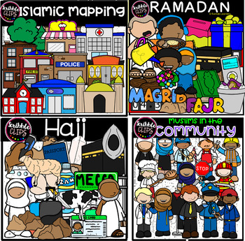 Islamic Lifestyle  (scribble clips)