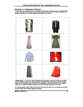 Islamic Manner of Dress Learning & Lapbook Unit