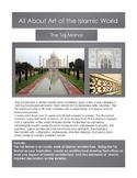 Taj Mahal-Islamic & Middle Eastern Art