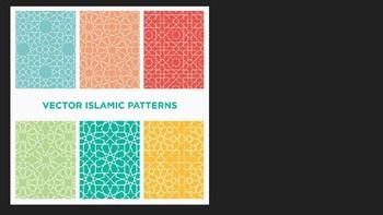 Islamic Mixed Media Art project