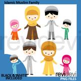 Islamic Muslim Family Clip art (Islam religion clipart)