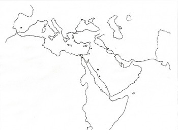 Islamic World Map