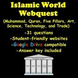 Islamic World Webquest (Muhammad, Quran, Five Pillars, Art, Science, and Trade)