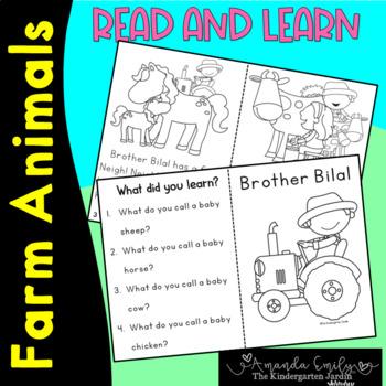Islamic emergent reader - brother bilal has a farm