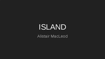 Island - Analytical Text Response