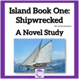Island Book One: Shipwreck A Novel Study  Vocabulary, Quiz
