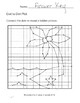 Island Dot to Dot, Graphing Ordered Pairs, Hidden Picture