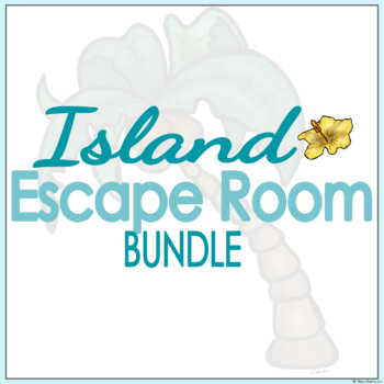 Island Escape Room Activity - BUNDLE