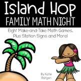 Island Hop Family Math Night for Kindergarten