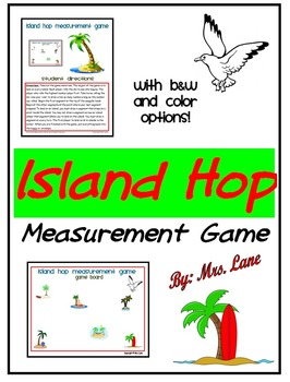 Island Hop Measurement Game