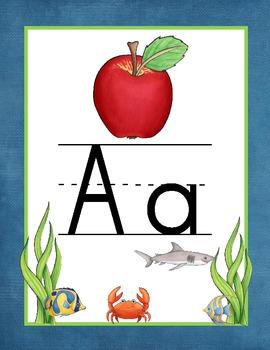 Island Paradise Alphabet