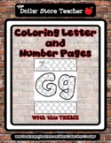 Island - Theme Coloring Letter and Number 0 - 10 (37 Pages) *o