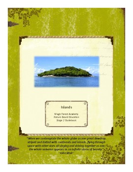 Island Themed Nature Education Unit-Stage 2 (Magic Forest Academy)