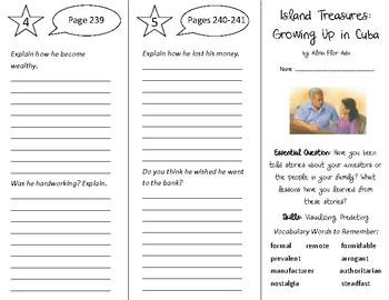 Island Treasures Trifold - Open Court 5th Grade Unit 3 Lesson 1