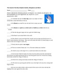 Island of Blue Dolphins Complete Figurative Language Packet