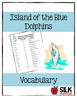 Island of Blue Dolphins Vocabulary