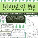 Island of Me - Creative Therapy Activity