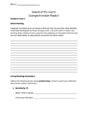 Island of the Aunts Comprehension Packet (Entire Novel)