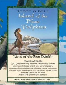 Island of the Blue Dolphin ELA Study Novel Guide Complete