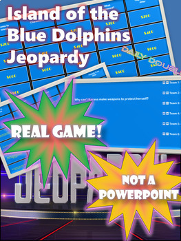 Island of the Blue Dolphins Interactive Jeopardy