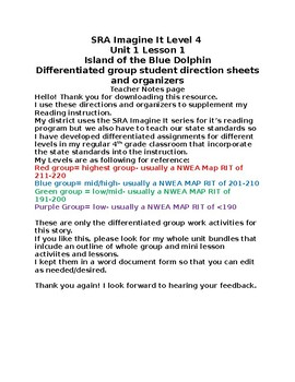 Island of the Blue Dolphin group activities
