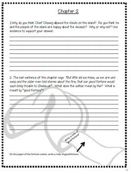 Island of the Blue Dolphins by Scott O'Dell LESSON PLANS to teach CC strategies