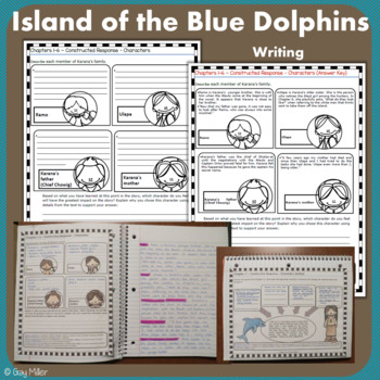 Island of the Blue Dolphins [Scott O'Dell] Digital + Printable Book Unit