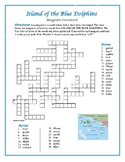 Island of the Blue Dolphins: Anagram Crossword—A Spelling Challenge!