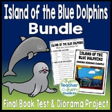 Island of the Blue Dolphins Bundle: Final Test and Book Report Project {25% Off}