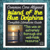 Island of the Blue Dolphins Novel Study, Activities PACKET | DISTANCE LEARNING