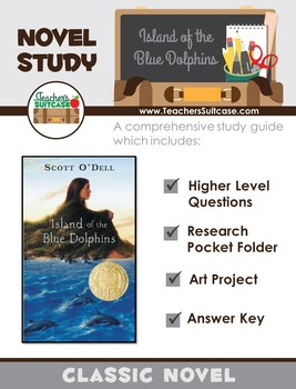 Island of the Blue Dolphins {Comp. Questions, Research Fol