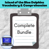 Island of the Blue Dolphins Comprehension, Vocabulary, & A