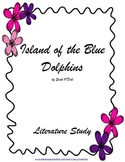 Island of the Blue Dolphins (TRIAL Ch1-10) Literature Study - Tests, Vocab, MORE