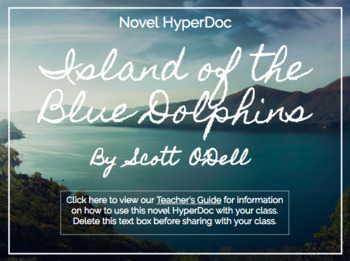 Island of the Blue Dolphins Hyperdoc / Google Slides