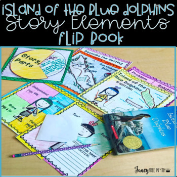 Island of the Blue Dolphins Story Elements Flip Book
