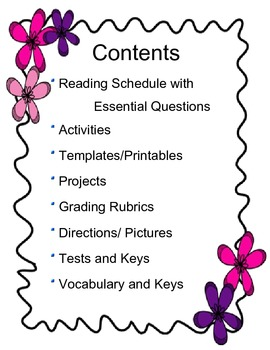 Island of the Blue Dolphins: Literacy Kit (Tests, Vocab., Activities, & More)
